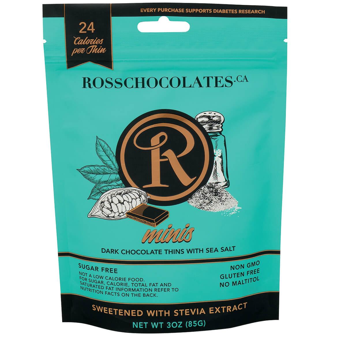 Ross Chocolates Sugar Free Dark Chocolate with Sea Salt Mini-370912
