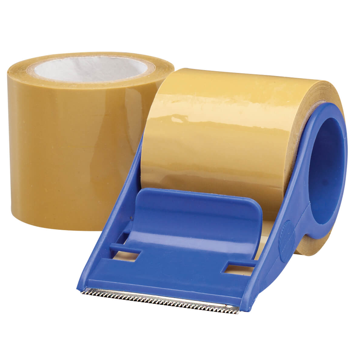 Packaging Tape and Rolling Dispenser Set of 3-370948