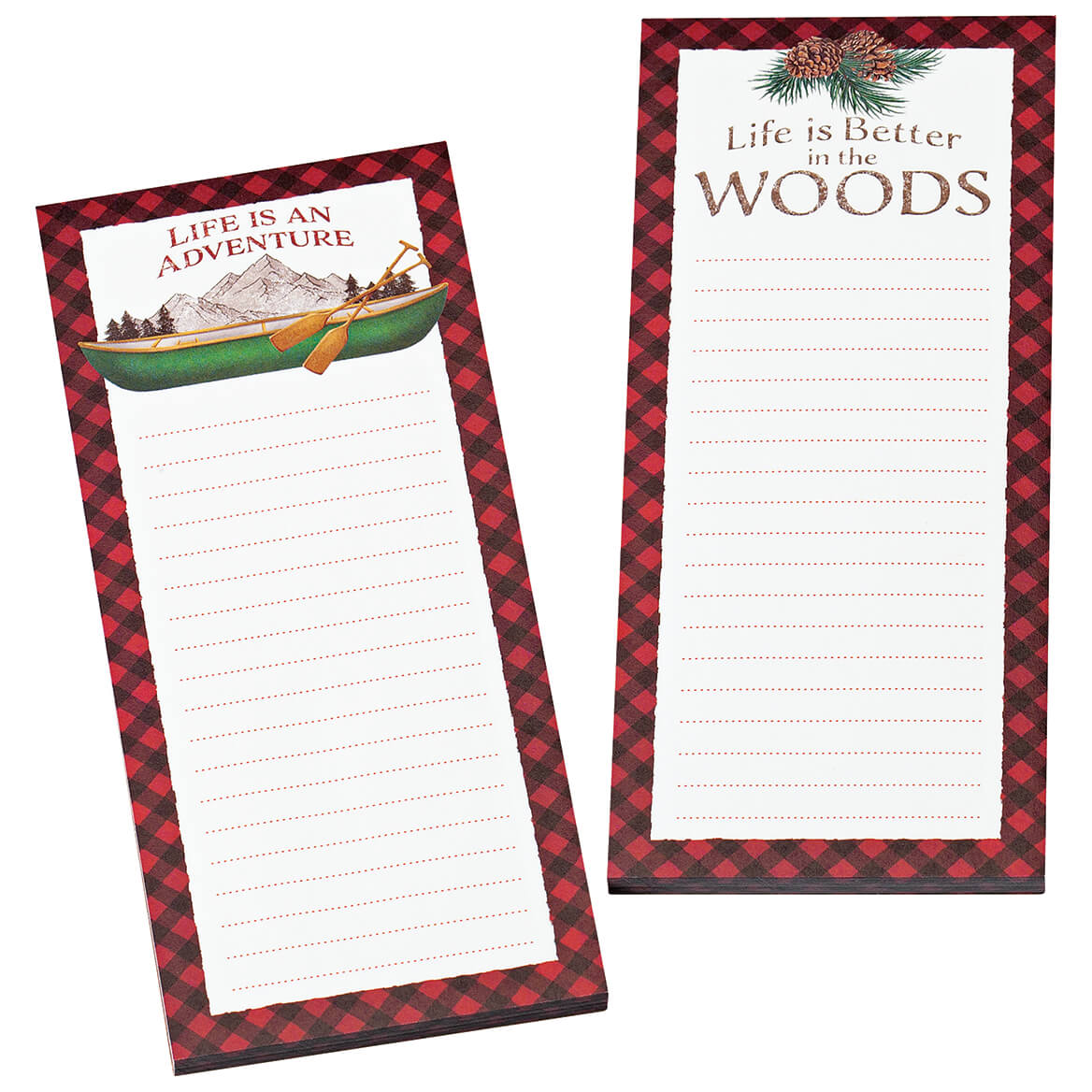 Northwoods Note Pads Set of 2-370976