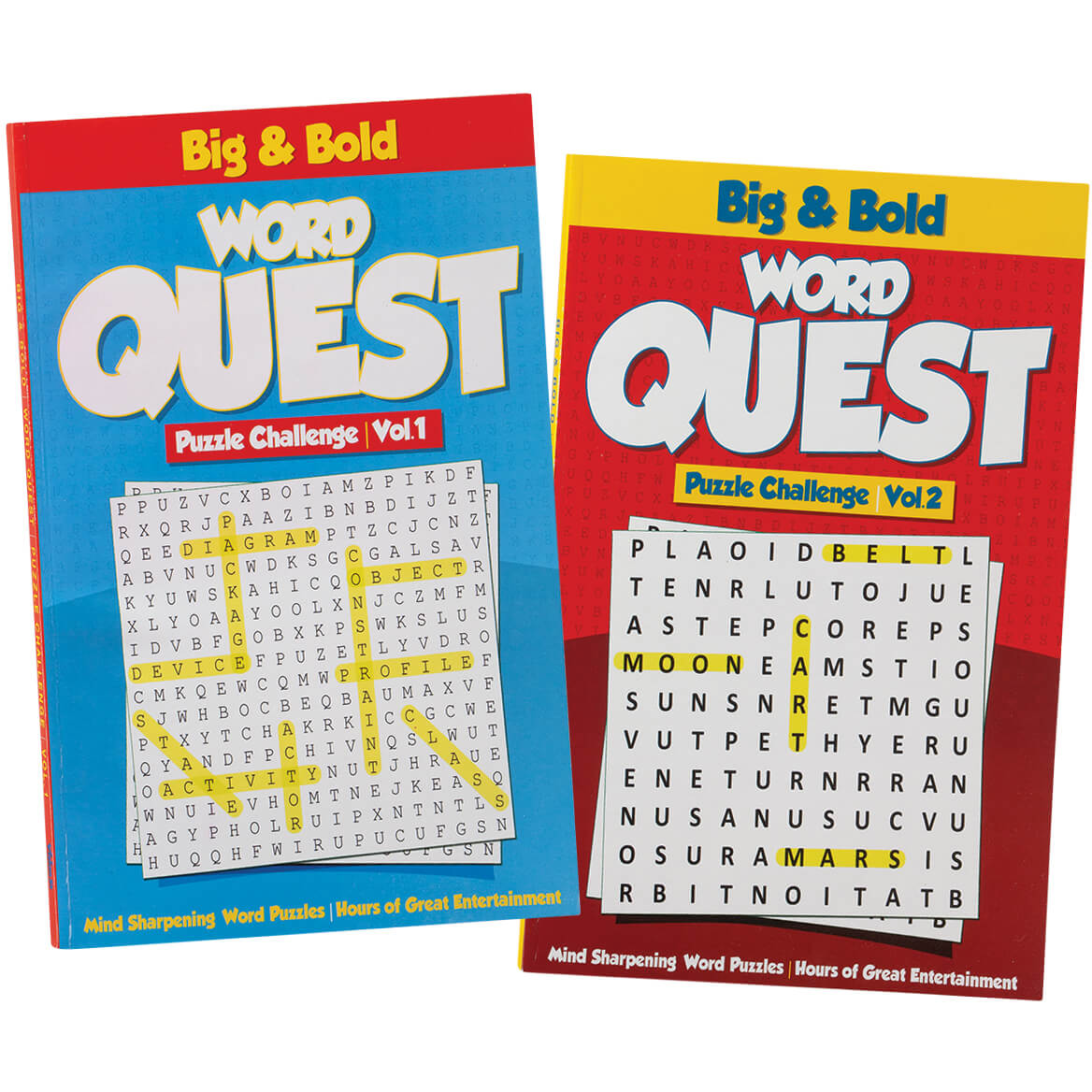 Big & Bold Word Quest Puzzles Set of 2-371053