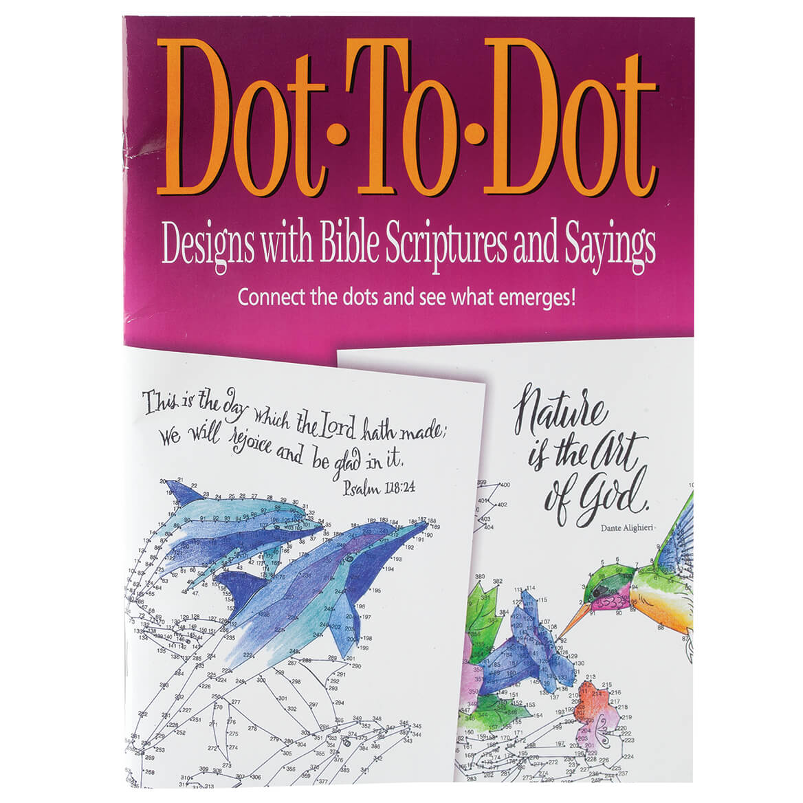 Dot-To-Dot Bible Scriptures and Sayings-371078