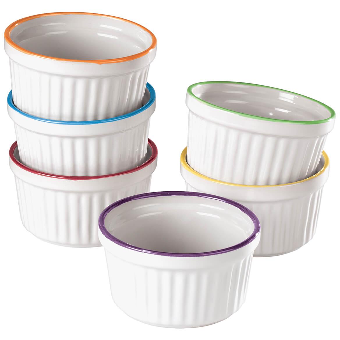 Colorful Ramekins, Set of 6-371126