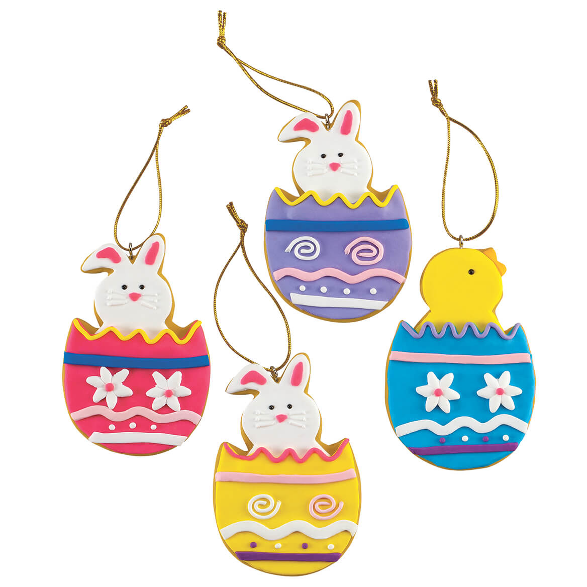 Claydough Easter Ornaments, Set of 12 by Holiday Peak™-371224