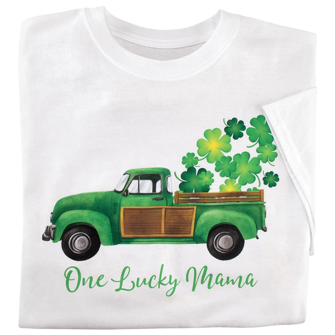 Personalized Vintage Shamrock Truck T-Shirt-371367