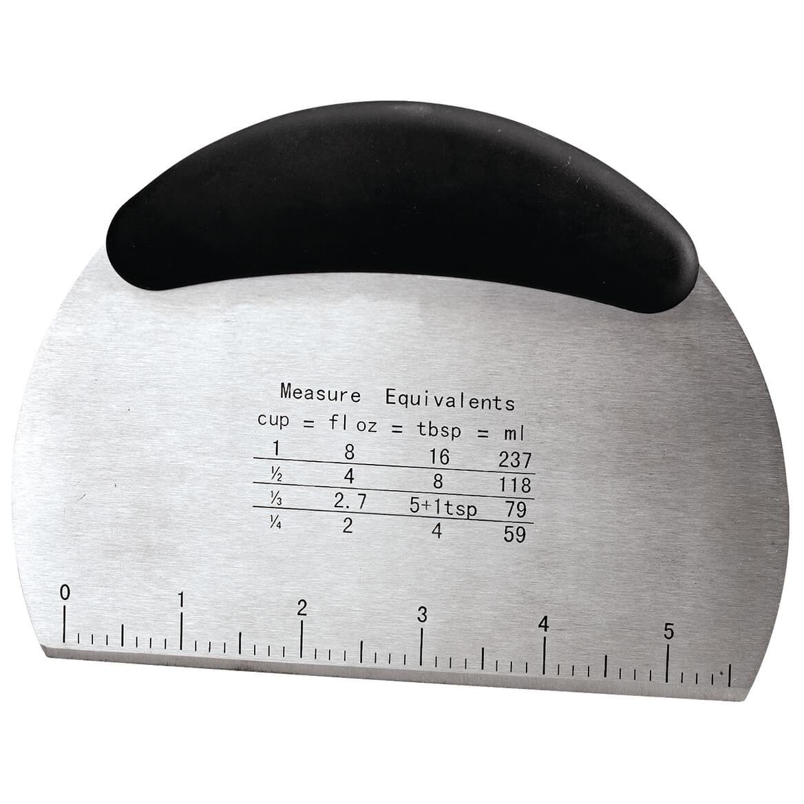 Stainless Steel Board Scraper & Pastry Cutter-371389