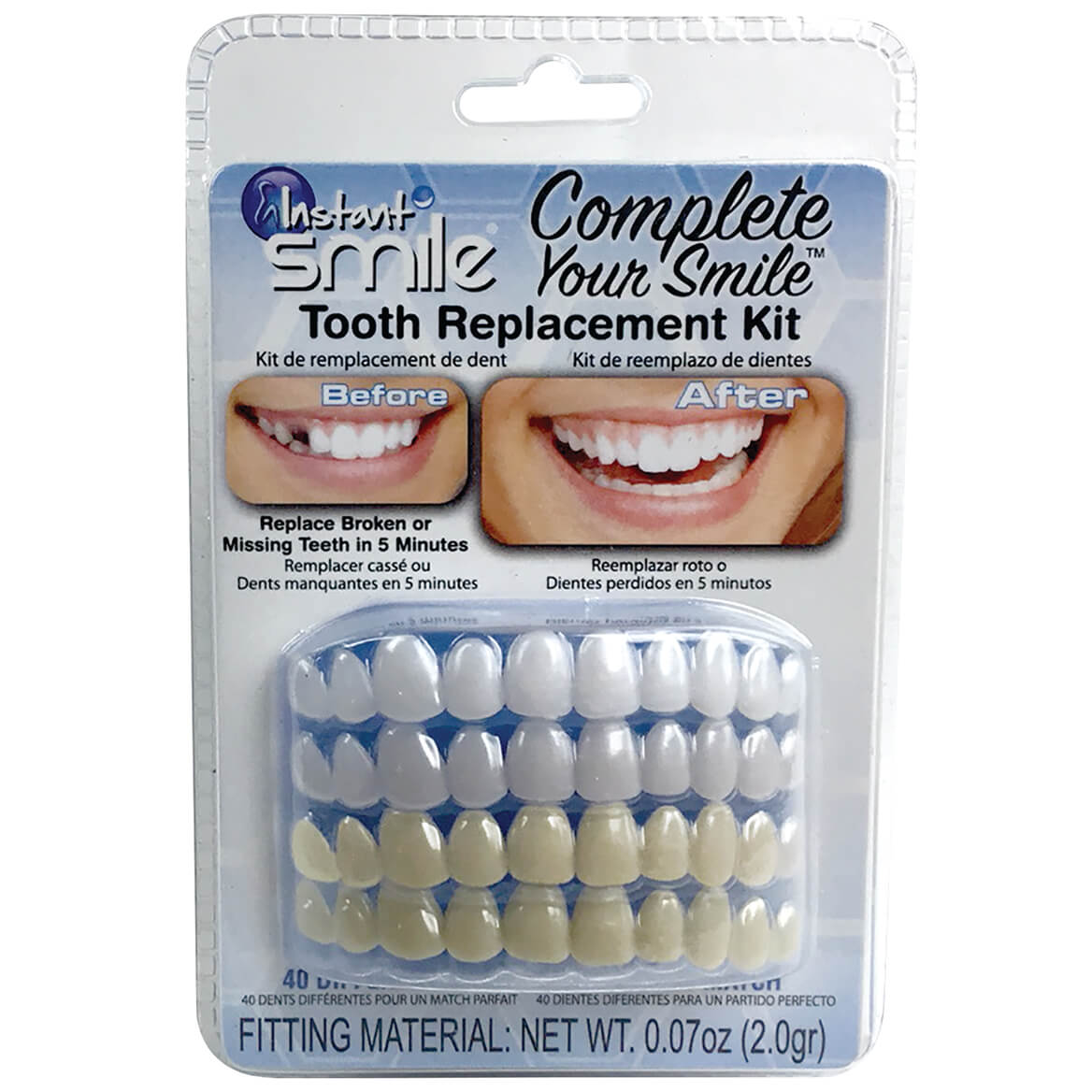 Instant Smile™ Complete Your Smile™ Tooth Replacement Kit-371589