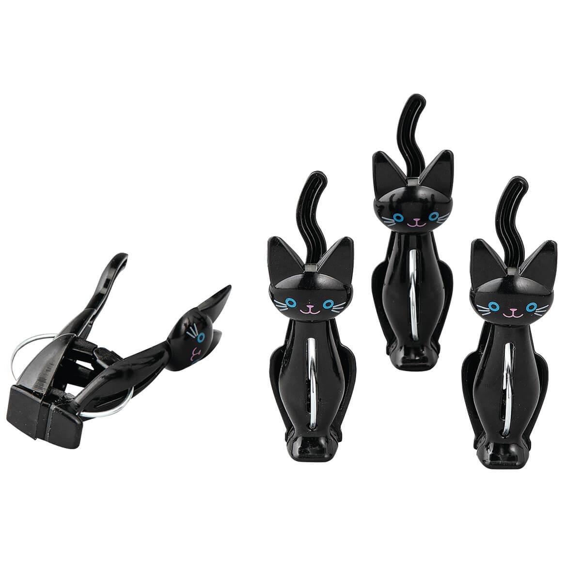 Cat Bag Clips, Set of 4-371630