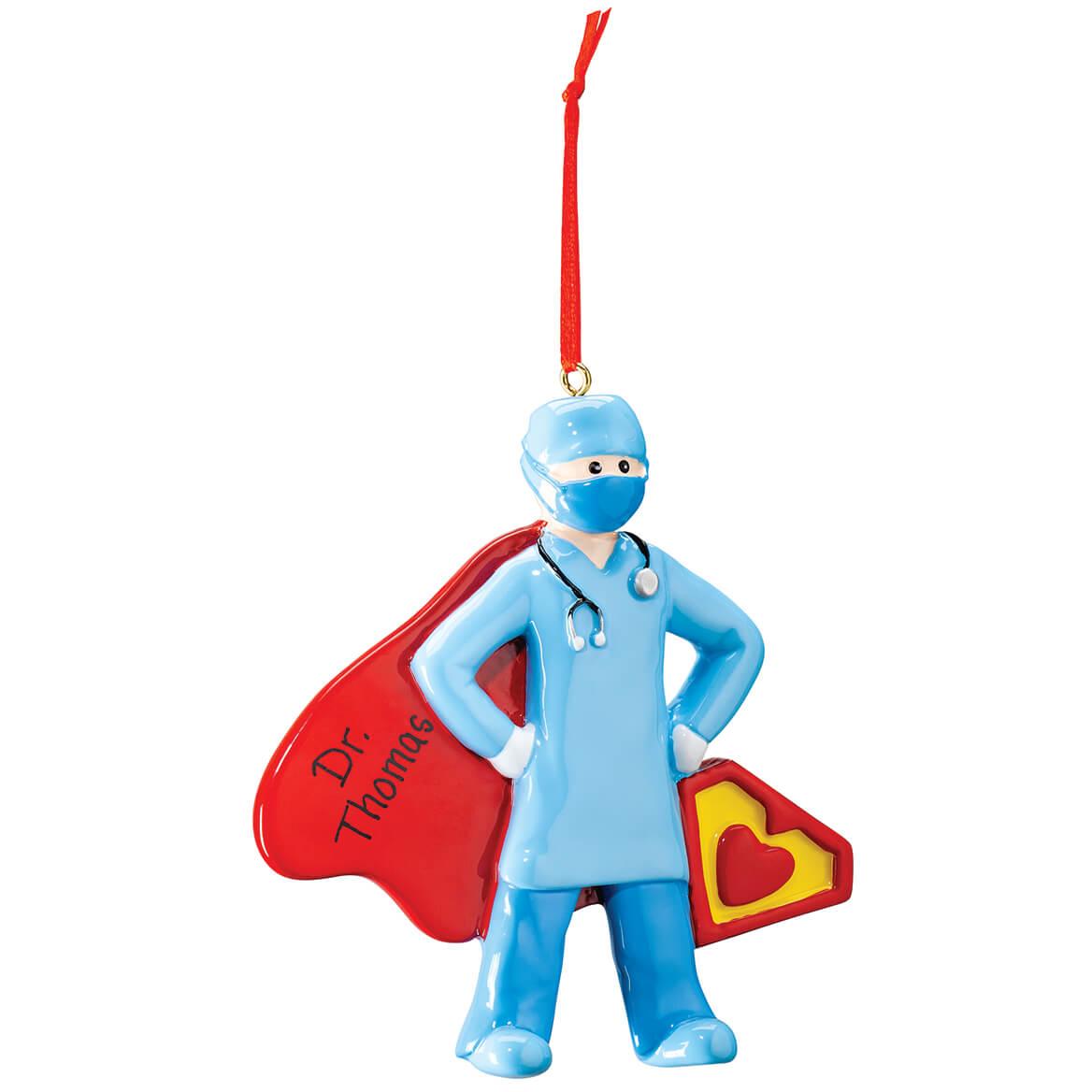 Personalized Super Doctor Ornament-371640