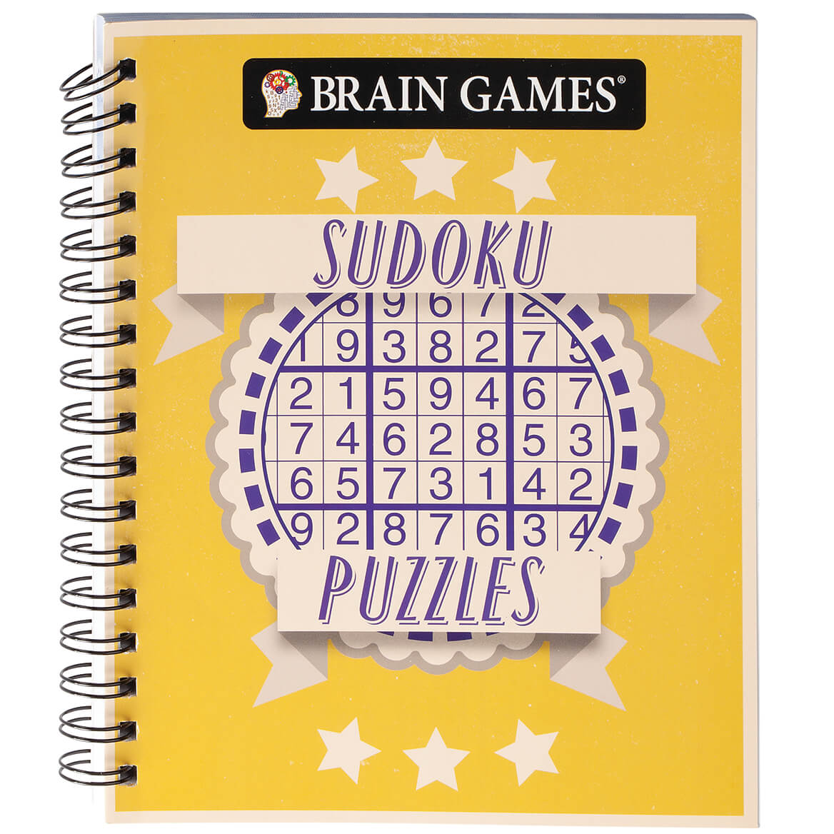 Brain Games® Star Banner Sudoku Puzzles-371702