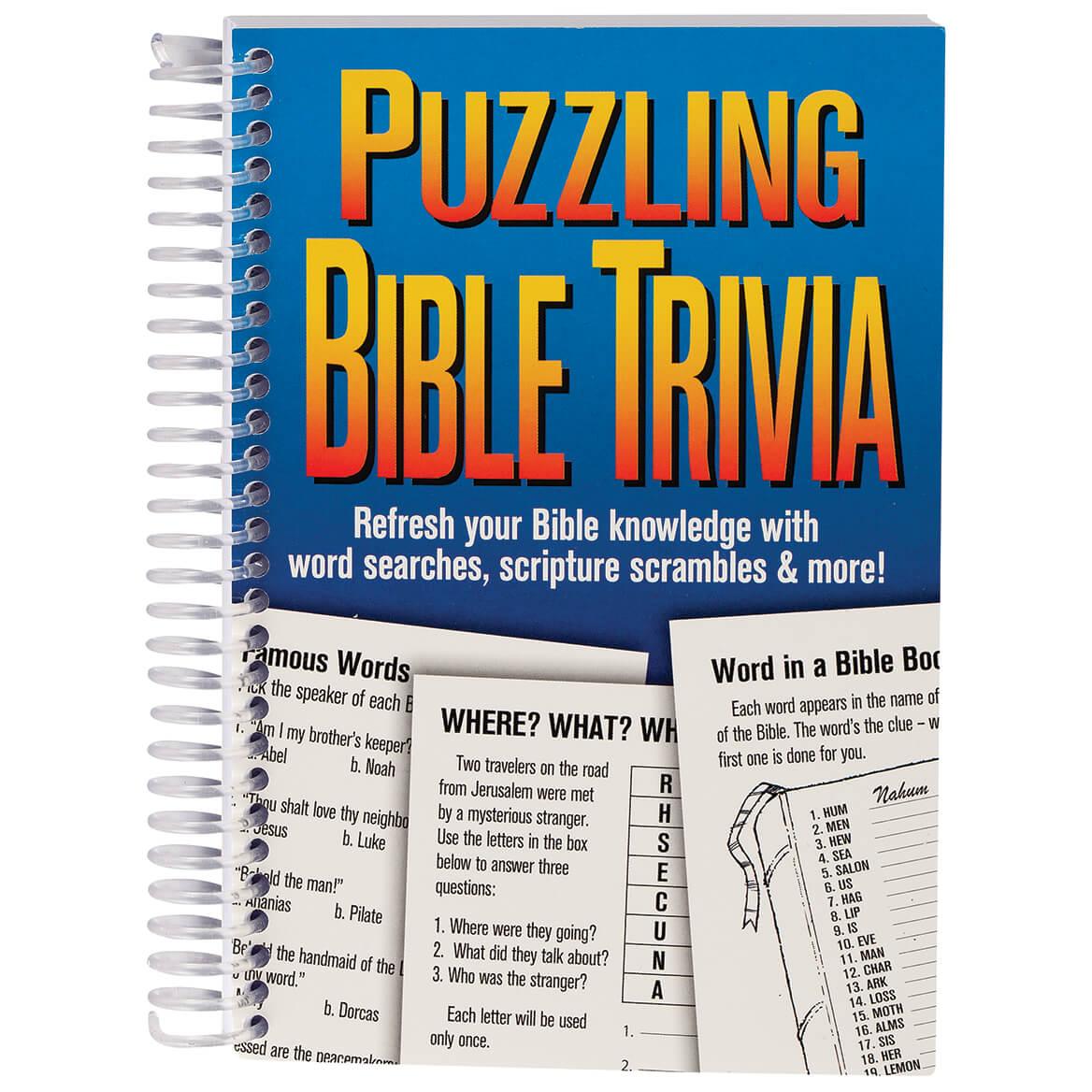 Puzzling Bible Trivia Book-371706