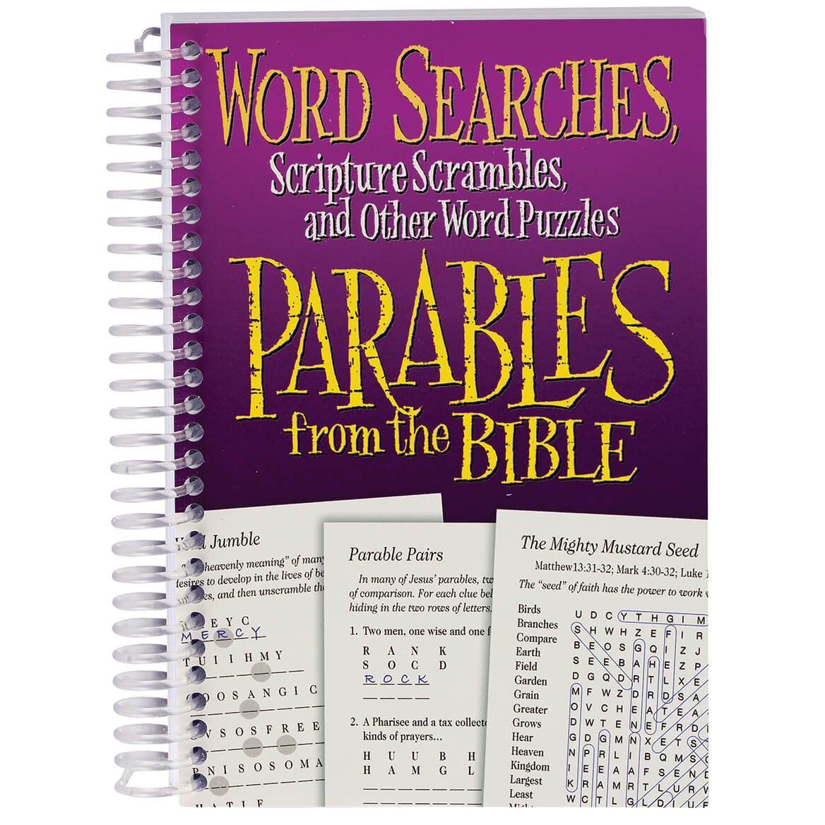Word Puzzles Parables from the Bible Book-371707