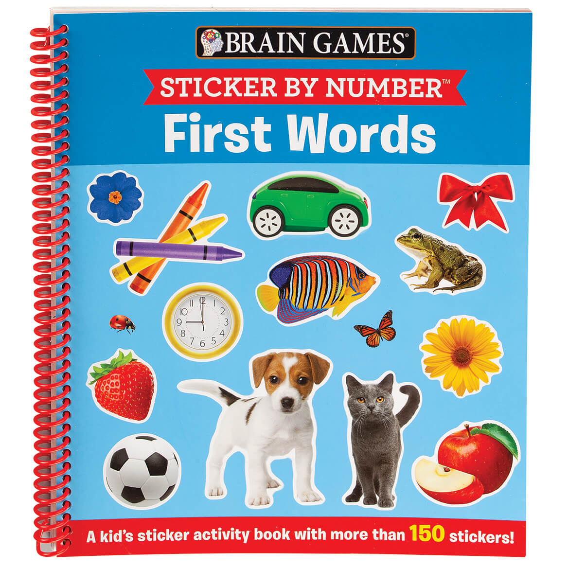 Brain Games® Sticker By Number ™ First Words-371723