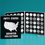 Commemorative State Quarters Album