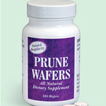 Prune Wafers 100 Tabs