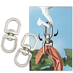 Hanging Basket Double Swivel Hooks