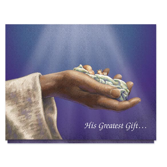 His Greatest Gift Christmas Card Set/20 - View 1
