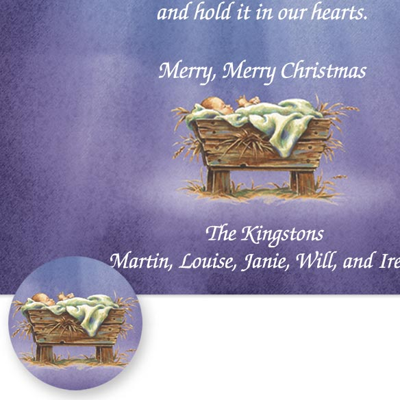 His Greatest Gift Christmas Card Set/20 - View 3