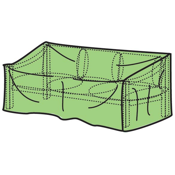 "Patio Glider Cover - 78""L x 33""H x 37""W - View 1"