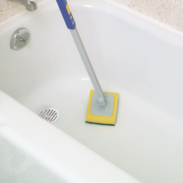 Telescopic Tub and Wall Scrubber - View 3