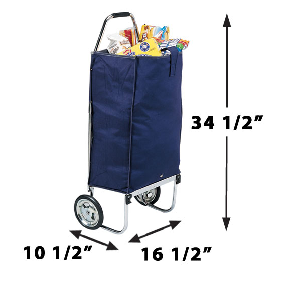 Deluxe Folding Carryall Cart - View 1