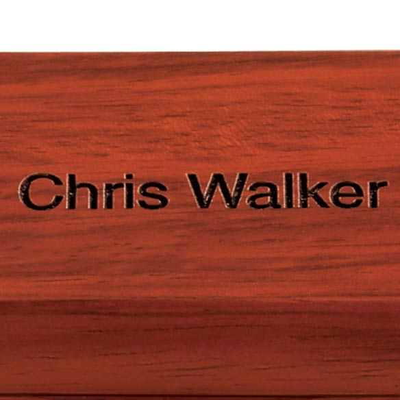 Personalized Rosewood Pen Case - View 1