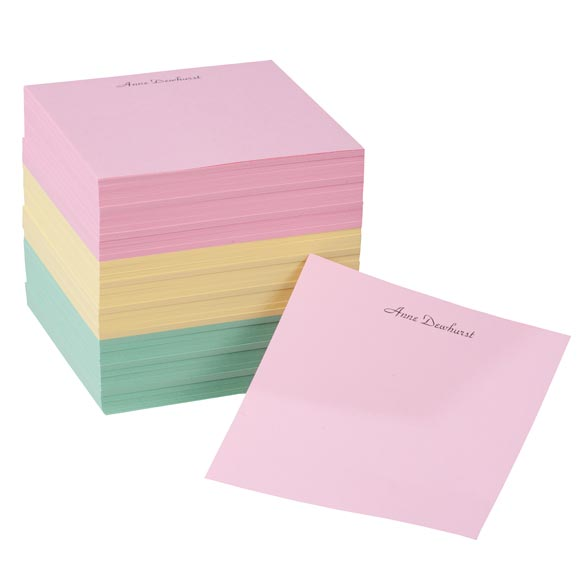 Personalized Memo Cube - Set of 600 - View 2