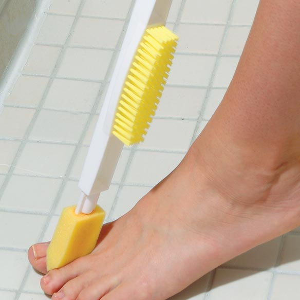 Long Handled Foot Brush - View 2