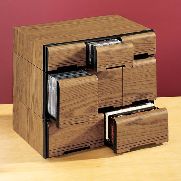 Stackable Cassette Cabinet - View 4