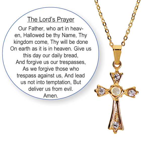 Lord's Prayer Necklace - View 1