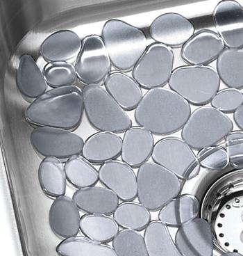 Pebblz Sink Mats Cleaning Repair Kitchen Walter Drake