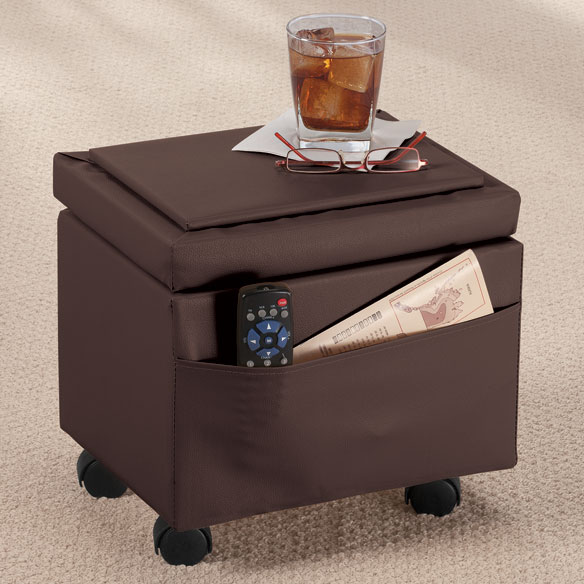 Flip Cover Ottoman by OakRidge Accents™ - View 3