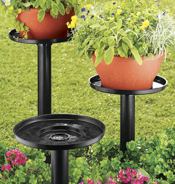 Outdoor Plant Stand - Set Of 3 - View 2