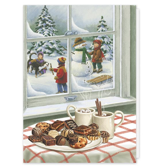 Sweet Greetings Christmas Card Set/20 - View 1