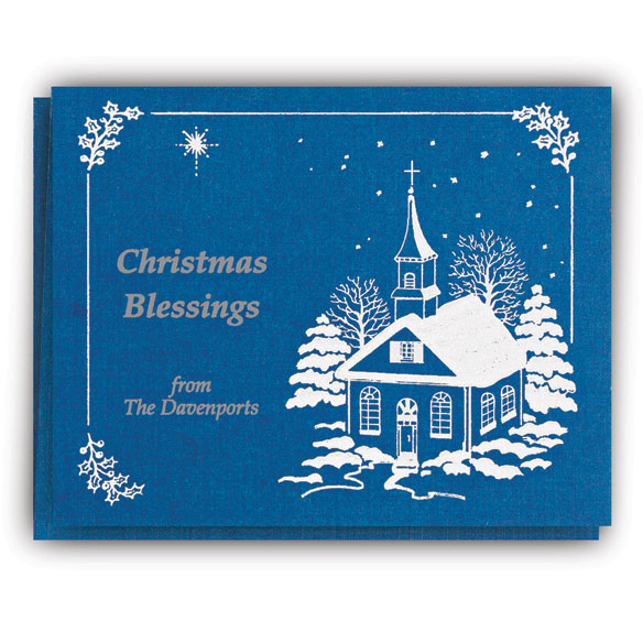 Personalized Religious Christmas Cards - View 2