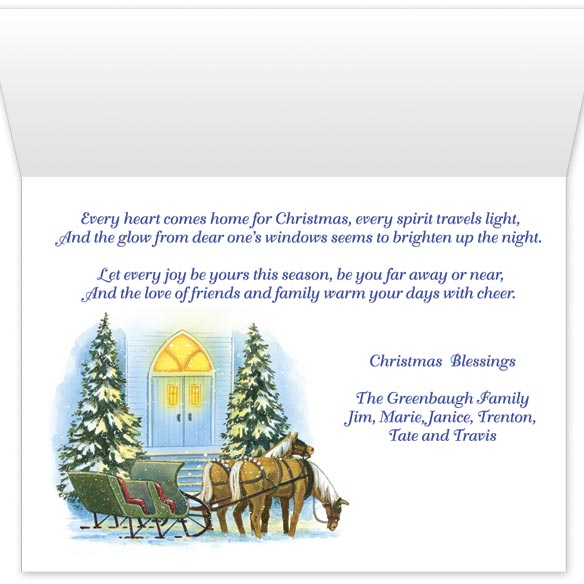 Home for Christmas Card Set/20 - View 2
