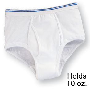 Men's 6 oz. Incontinence Brief - View 2