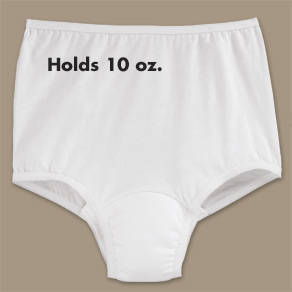 Women's Incontinence Briefs