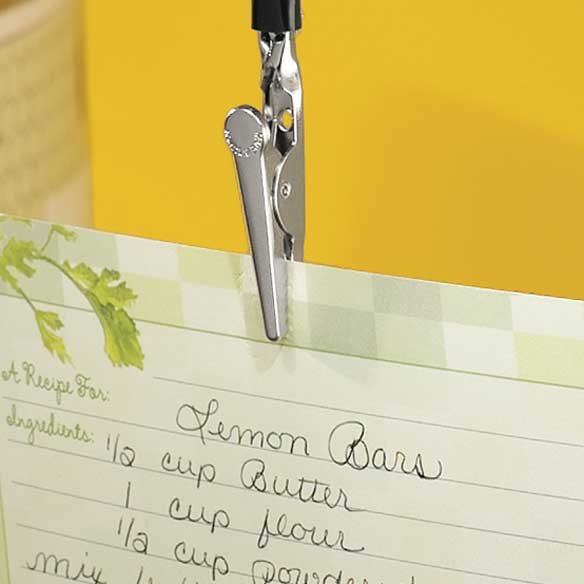 Recipe Card Hook - View 1