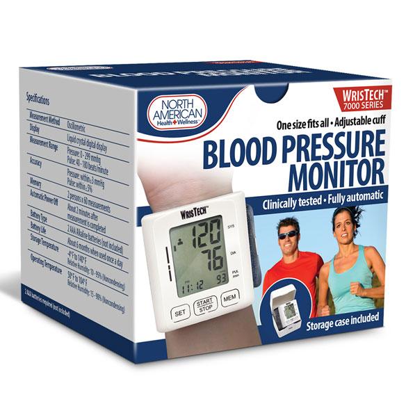 Wrist Blood Pressure Monitor - View 3