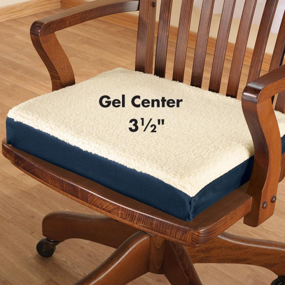 Fleecy Gel Seat Cushion - View 2