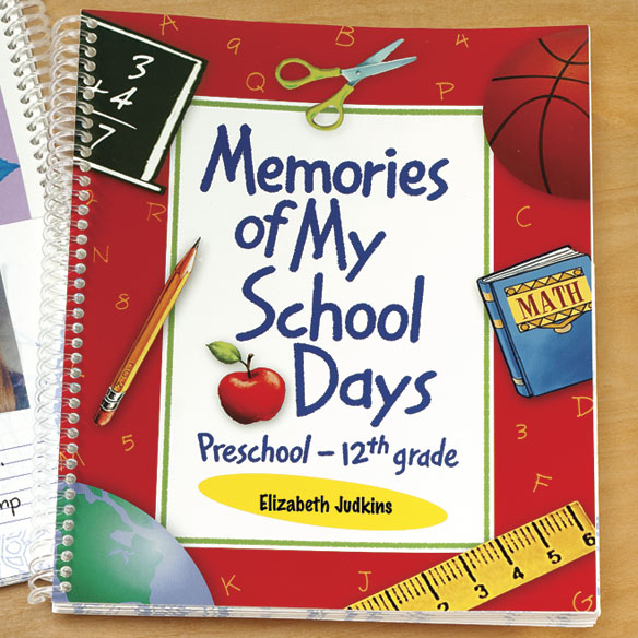 School Days Memory Book - View 3