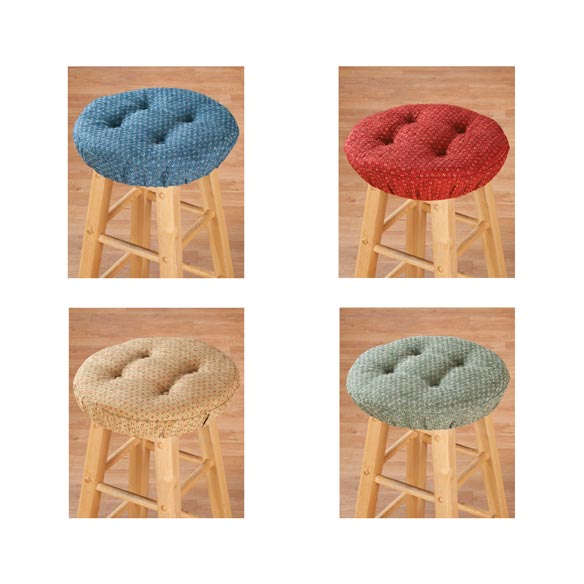 Raindrop Bar Stool Cushions - View 2