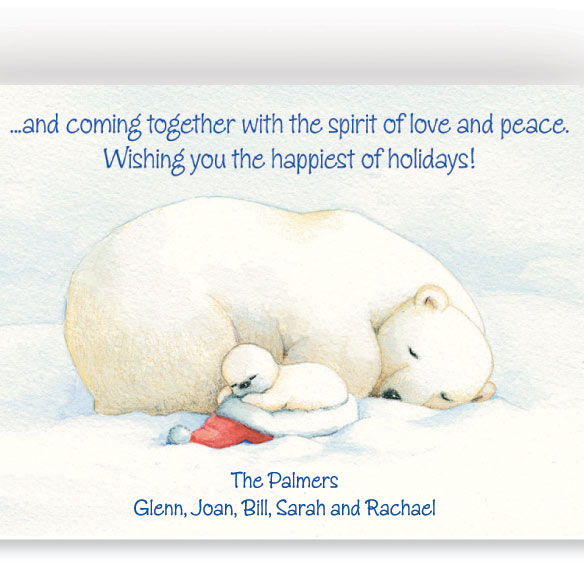 Arctic Friends Christmas Card Set of 20 - View 2