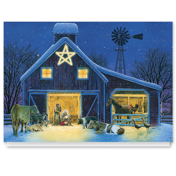 Christmas Eve Christmas Card Set/20 - View 1