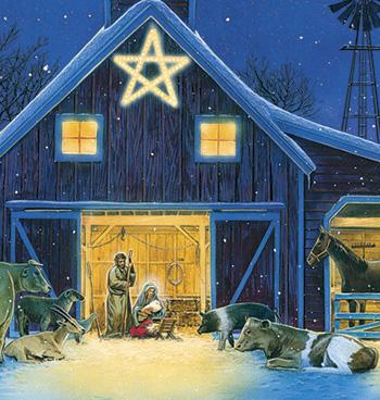 Christmas Eve Christmas Card Set/20 - View 3