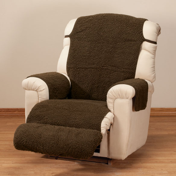 Sherpa Recliner Cover by OakRidge Comforts™ - View 2
