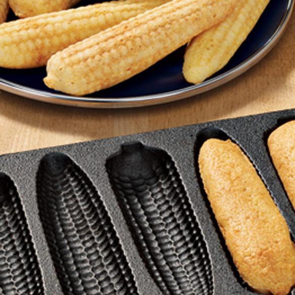 Cast-Iron Corn Bread Pan - Corn Cobs - View 1