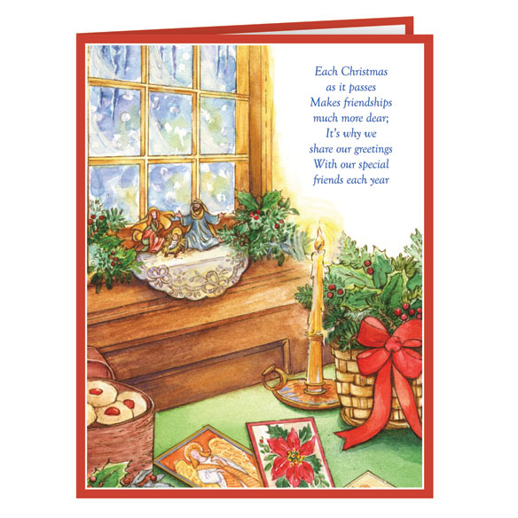 Calendar Gift Christmas Card Set/20 - View 2