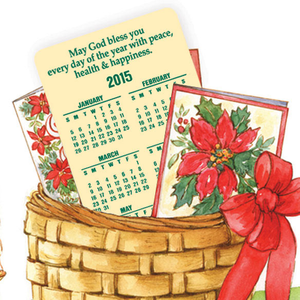 Calendar Gift Christmas Card Set/20 - View 4