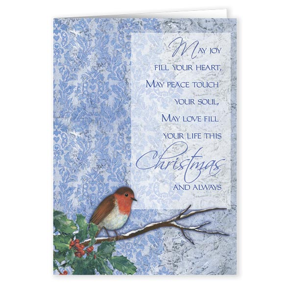 Winter Songbird Christmas Card Set/20 - View 2